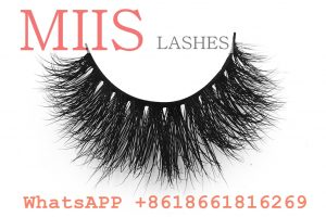 Private label 3d mink eye lashes qingdao eyelash